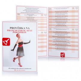 Erotic game Prověrka na francouzskou sexy pokojskou Czech Version