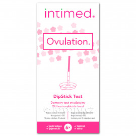 Intimed Ovulation hLH DipStick Test 6 pack
