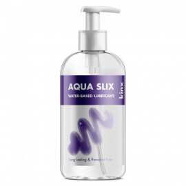 Kinx Aqua Slix Water-based Lubricant Transparent 250ml
