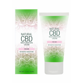 Pharmquests Natural CBD Masturbation Cream for Her 50ml