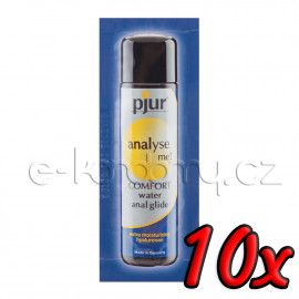 Pjur Analyse Me! Comfort Water Anal Glide 2ml 10 pack