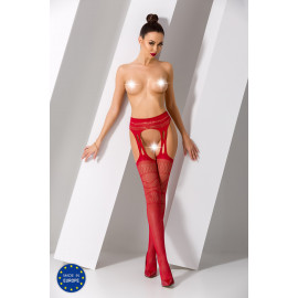 Passion S020 Tights Red
