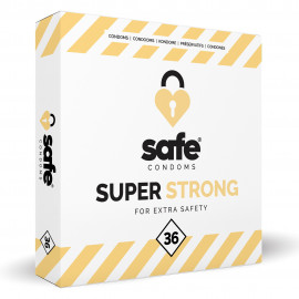 Safe Safe Strong Condoms For Extra Safety 36 pack
