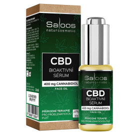 Saloos CBD Bioactive Serum Natural Face Oil 20ml