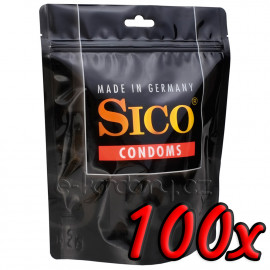 SICO Red Strawberry 100 pack