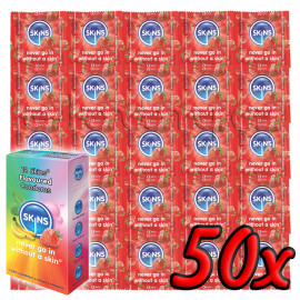 Skins Strawberry 50 pack