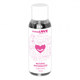 SuperLove Natural Waterbased Lubricant 100ml