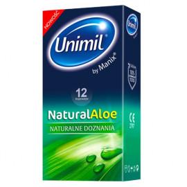 Unimil Natural Aloe Vera 12 pack