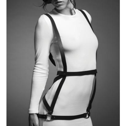 Bijoux Indiscrets Maze Arrow Dress Harness Black