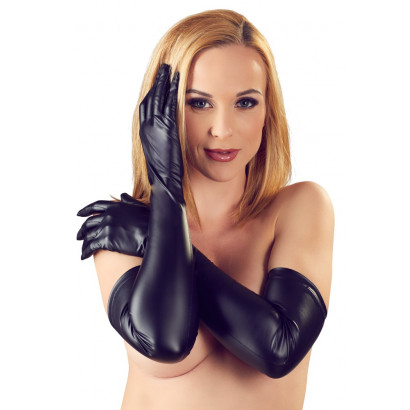 Cottelli Gloves 2460777 Black