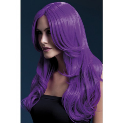 Fever Khloe Wig 42548 - Neon-Purple Wig