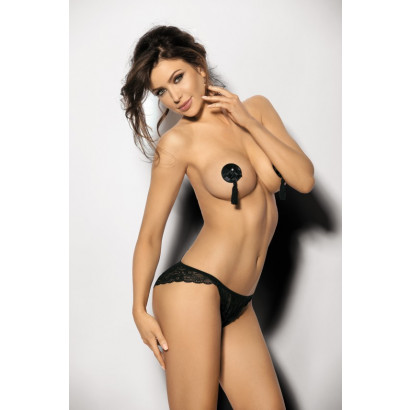 Angels Never Sin Anche panty Black