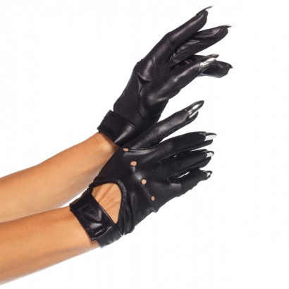Leg Avenue Claw Motorcycle Gloves 2663