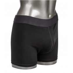 California Exotics Packer Gear Boxer Brief with Packing Pouch Black