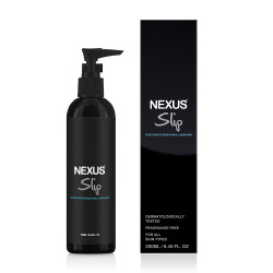 Nexus Slip Thick Water Based Anal Lubricant 250ml