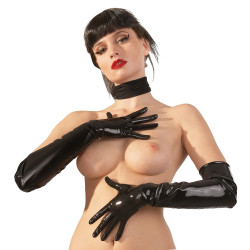 LateX Latex Gloves Black