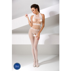 Passion Bodystocking BS048 White