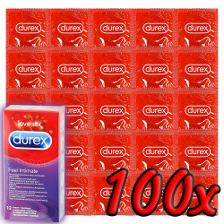 Durex Elite Intimate Feel 100 db