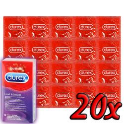 Durex Elite Intimate Feel 20 db