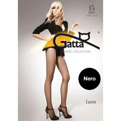 Gatta Laura 15 - Harisnya Nero Fekete