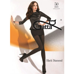 Gatta Black Diamond - Harisnya Nero-Silver