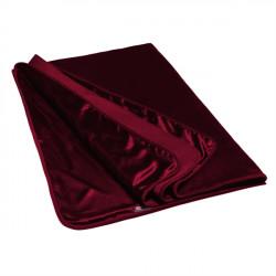 Liberator Fascinator Throw Velvish Merlot - Luxus ágytakaró Piros