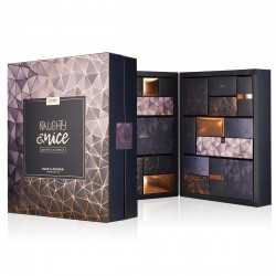LoveBoxxx Naughty & Nice 24 Days Advent Calendar Blue & Copper Limited Edition