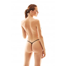 Anais Pollie Open Thong Black