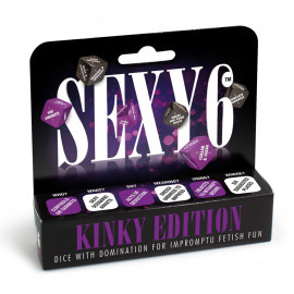 Creative Conceptions Sexy 6 Dice Kinky Edition English Version
