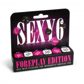 Creative Conceptions Sexy 6 Dice Foreplay Edition English Version