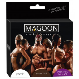 Magoon Erotic Massage Oil Set 3 x 50ml