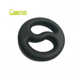 Brutus Yin-Yang Silicone Cock And Ball Duo Ring