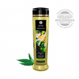Shunga Organica Massage Oil Green Tea 240ml