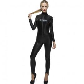 Fever Miss Whiplash Costume 28629 Fekete