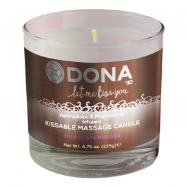 Dona Kissable Massage Candle Choco 135g