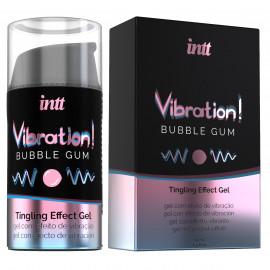 intt Vibration! Bubble Gum Tingling Effect Gel 15ml