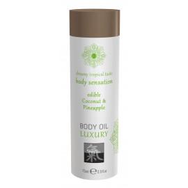 Shiatsu Luxury Body Oil Edible Coconut & Pineapple 75ml