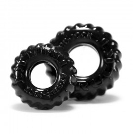 Oxballs TRUCKT 2-pack Cockring Black