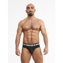 Mister B URBAN Antwerp Jock Brief Black