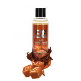 Stimul8 4in1 Dessert Kissable Warming Massage Lubricant Chocolate Salted Caramel Lava Cake 125ml