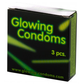 Dansex Glowing Condoms 3 pack