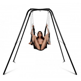 Strict Extreme Sling and Swing Stand Black