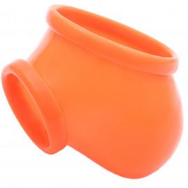 Toylie Latex Penis Sleeve Ben Neon Orange