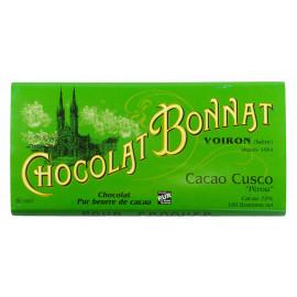 Bonnat Cuzco 75% 100g