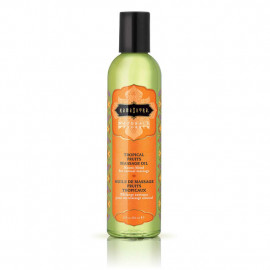 KamaSutra Naturals Massage Oil Tropical Fruits - Természetes Masszázsolaj Trópusi gyümölcsök