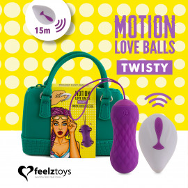 FeelzToys Remote Controlled Motion Love Balls Twisty