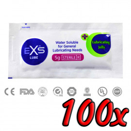 EXS Clear Sterile Lube 5ml 100ks