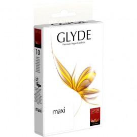 Glyde Maxi - Premium Vegan Condoms 10 pack