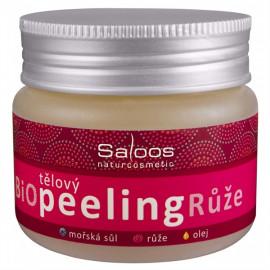 Saloos Bio testszínű peeling - Rózsa 140ml