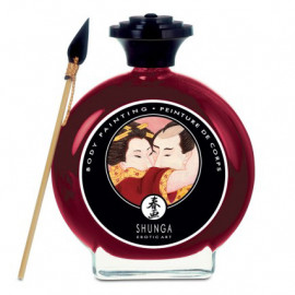 Shunga Body Painting Sparkling Strawberry Wine 100ml
